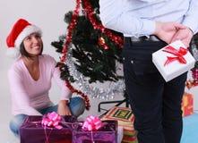 Weihnachtsüberraschung Lizenzfreies Stockfoto