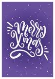 Weihnachtsbeschriftung Lizenzfreie Stockbilder