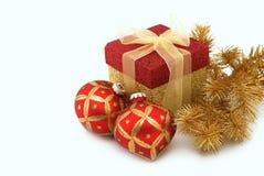 Weihnachtsbildschirmanzeige Stockfotografie
