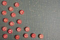 Weihnachtsbingo nummeriert flache Art Lizenzfreies Stockbild