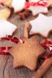 Weihnachtsbiskuit Lizenzfreie Stockfotos
