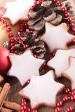 Weihnachtsbiskuit Stockfotos