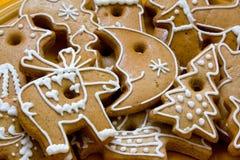 Weihnachtsbiskuite Lizenzfreies Stockbild