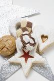 Weihnachtsbiskuite Lizenzfreies Stockfoto