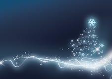 Weihnachtsblau Lizenzfreie Stockbilder