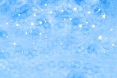 Weihnachtsblaue Hintergrundarchivbilder Stockfoto