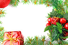 Weihnachtsblaues magisches Feld Stockbild