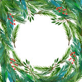 Weihnachtsblaues magisches Feld Lizenzfreie Stockfotos