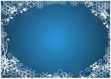 Weihnachtsblumenhintergrund Lizenzfreies Stockfoto