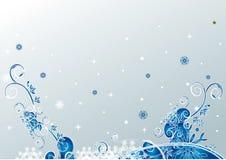 Weihnachtsblumenhintergrund Lizenzfreies Stockbild