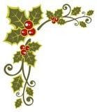 Weihnachtsblumenmuster Lizenzfreies Stockfoto