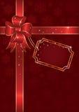Weihnachtsbogen Stockfoto