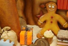Weihnachtsbonbons Stockbild