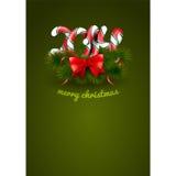 Weihnachtsbonbons stockbilder