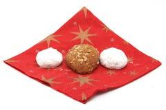 Weihnachtsbonbons Stockfotos