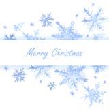 Weihnachtsbrief zu Santa Claus Stockbilder