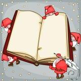 Weihnachtsbuch Stockbild