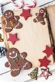 Weihnachtsbuch Lizenzfreies Stockbild