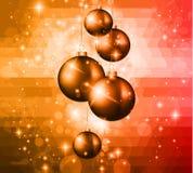Weihnachtsbunter Hintergrund 2015 Stockbilder