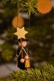 Weihnachtscaroler lizenzfreies stockfoto