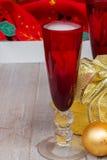 Weihnachtschampagner 2012 Stockbild