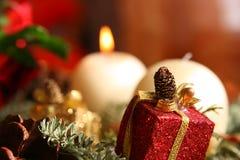 WeihnachtsChaplet lizenzfreie stockfotos