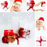 Weihnachtscollage Lizenzfreie Stockfotos