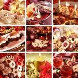 Weihnachtscollage Stockfoto