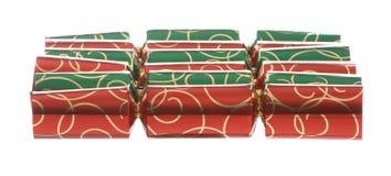 Weihnachtscracker lizenzfreie stockbilder