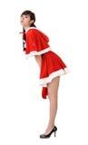 Weihnachtsdame Lizenzfreies Stockbild