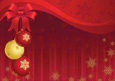 Weihnachtsdekor Stockbild
