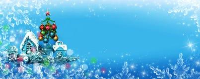 Weihnachtsdekor für Entwurf stock abbildung