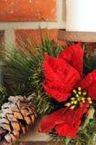 Weihnachtsdekorabschluß Stockfoto