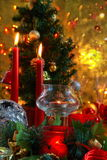 Weihnachtsdekoration. stockbilder