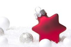 Weihnachtsdekoration Stockbild