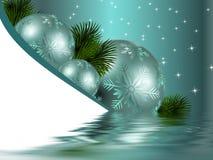 Weihnachtsdekoration vektor abbildung