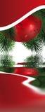 Weihnachtsdekoration stock abbildung