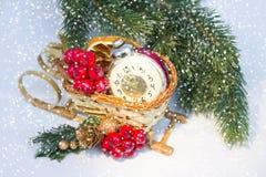 Weihnachtsdekoration 2015 Stockbild