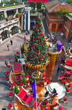 Weihnachtsdekoration bei Komplex 1881 in Hong Kong Lizenzfreie Stockbilder