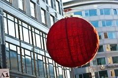 Weihnachtsdekoration in den Straßen von Wien Lizenzfreies Stockbild