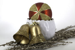Weihnachtsdekoration glänzende glaubes Stockbilder