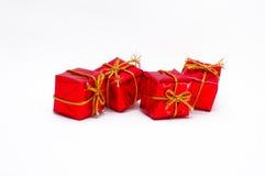 Weihnachtsdekoration - Isolat Stockfoto