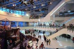 Weihnachtsdekoration 2015 in Metroplaza Kwai Fong, Hong Kong Stockfoto