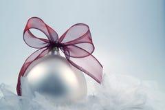 Weihnachtsdekoration mit kaltem, winterlichem Gefühl Lizenzfreie Stockfotografie