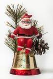 Weihnachtsdekoration mit Weihnachtsmann Lizenzfreies Stockfoto