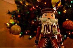 Weihnachtsdekoration - Nussknacker stockfotografie