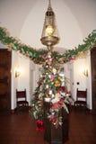 Weihnachtsdekoration Texas stockfotografie