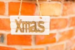Weihnachtsdekoration, Weihnachtszeichen stockbilder