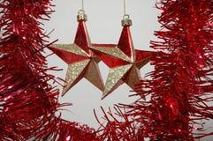 Weihnachtsdekorationen. stockfoto