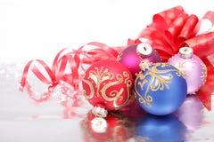 Weihnachtsdekorationen Lizenzfreie Stockfotos